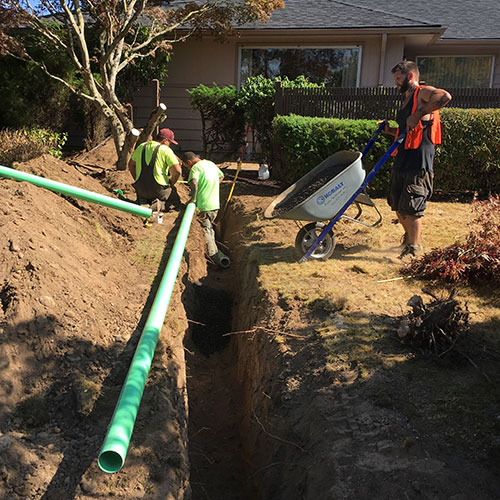 Utility Contractor Bellingham - Sewer Connection