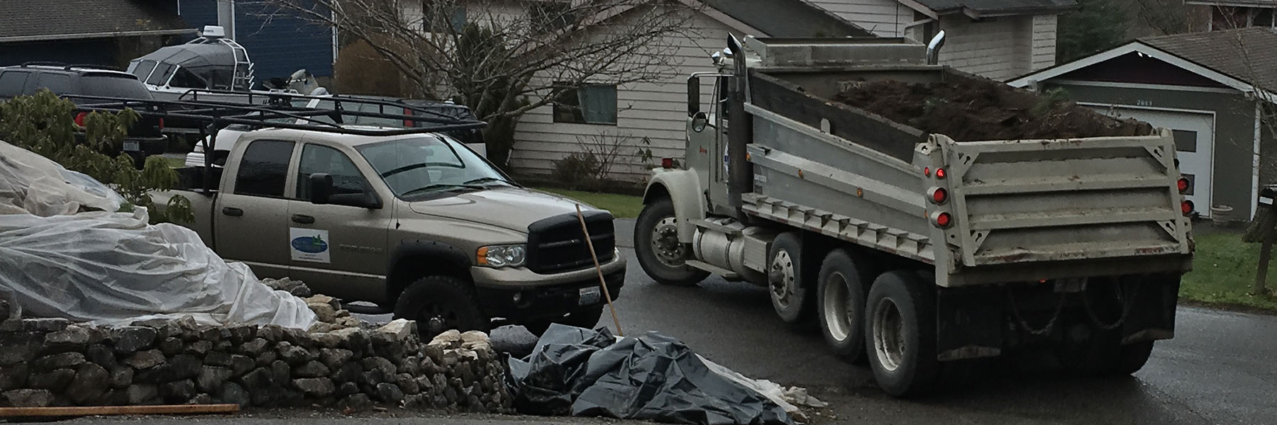 Dump Truck Hauling Bellingham