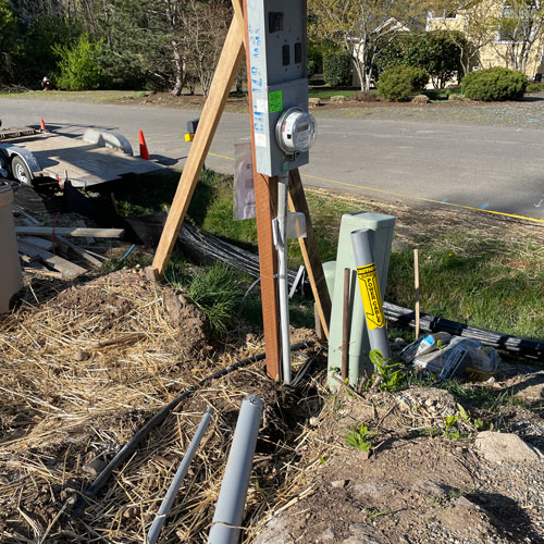Electrical Conduit Install Whatcom County - Agate Northwest