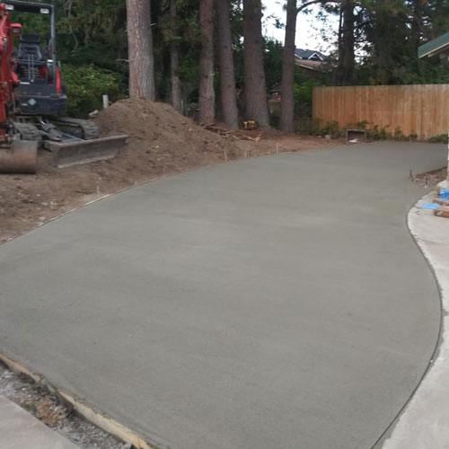 Concrete RV Pad Installed in Bellingham by Agate Northwest