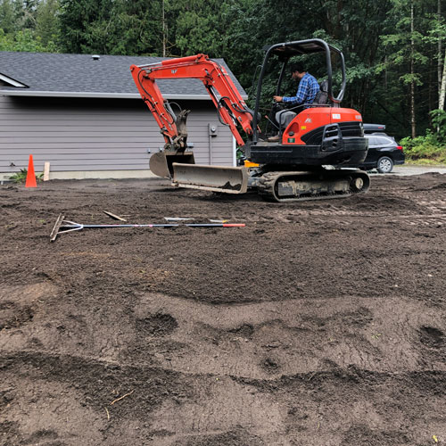 Surface Grading in Bellingham by Agate Northwest