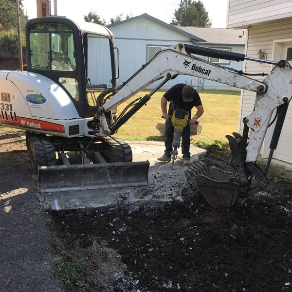 Concrete Demolition and Patio Repair Bellingham WA Agate NW GC