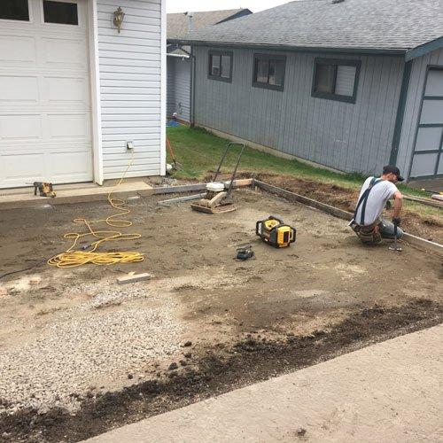 Concrete Driveway Replacement Contractor Bellingham WA