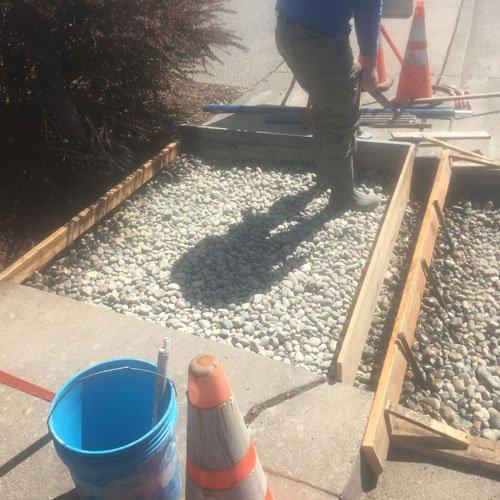 Sidewalk Replacement Concrete Flatwork Contractor Bellingham