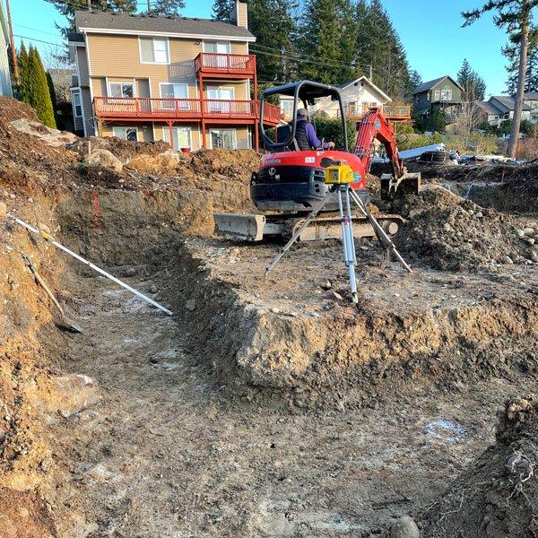 Foundation Excavation Bellingham WA Agate NW GC